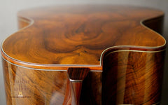 Ryan Abbey Parlor Guitar back