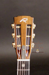 Ryan Abbey Parlor Guitar headstock