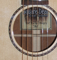 Square Deal Guitar Co label