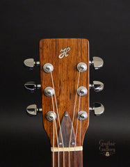 Hewett guitar headstock