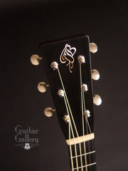 Borges OM guitar headstock