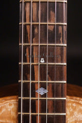 Turner Marrakech resonator guitar fretboard