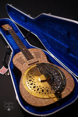 Turner Marrakech resonator guitar inside case