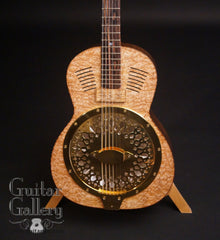 Turner Marrakech resonator guitar Bubinga top