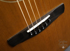 Ryan Mission GC guitar bridge
