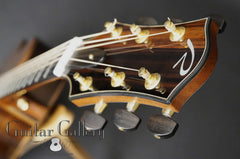 Ryan Mission GC guitar headstock