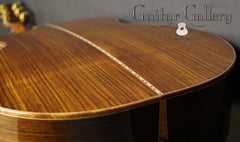 Ryan Mission GC guitar back
