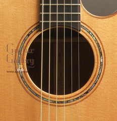 Laurie Williams kiwi guitar rosette