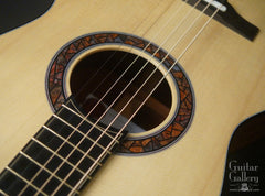 Kostal 00 guitar stained glass rosette