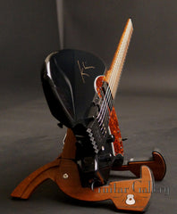 Klein headless electric guitar end view
