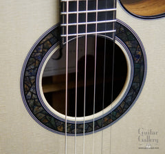 Kostal Mod D cutaway guitar stained glass rosette