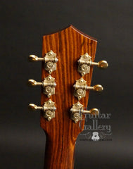 C F Holcomb Kodiak Resonator headstock
