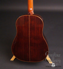 Kramer Prairie Grass guitar Bois de rose back