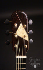 Kraut fan fret guitar headstock