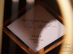 Kraut fan fret guitar label