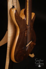 William Jeffrey Jones Kronos Fretless guitar side close
