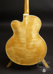 Kim Walker archtop maple back
