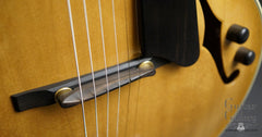 Kim Walker archtop bridge