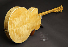Kim Walker archtop back glam shot