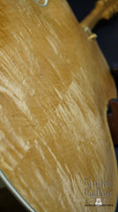 Kim Walker archtop curly maple back