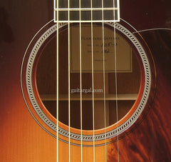 Flammang Guitar: Sunburst L35-13 Fret
