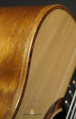 L R Williams classical guitar detail