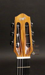 L R Williams classical guitar headstock