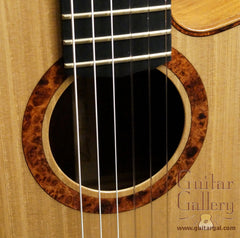 L R Williams classical guitar rosette