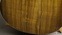 Taylor LTG Limited Edition guitar back