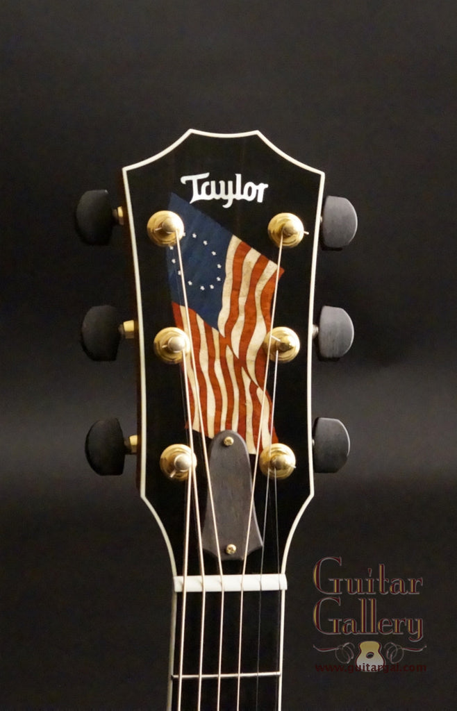 Taylor Liberty Tree Guitar headstock