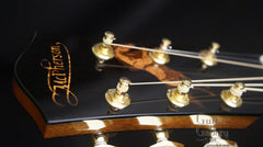 McPherson guitar with horse inlay