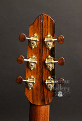 Maingard guitar headstock back