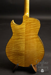 Marchione archtop guitar flame maple back