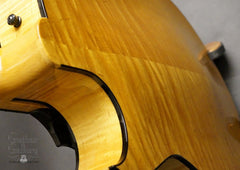 Marchione archtop guitar beautiful back