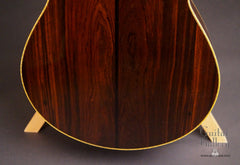 Marchione OM guitar back low