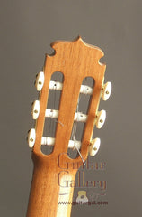 Marchione classical guitar headstock back