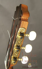 Marchione classical guitar headstock side