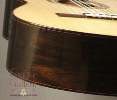 Marchione classical guitar detail