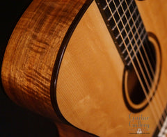 Marchione OMc guitar detail