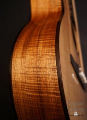 Marchione OMc guitar side detail