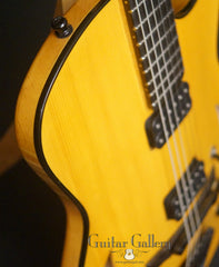 Marchione semi-hollow deluxe archtop detail