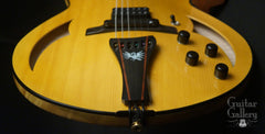 Marchione semi-hollow deluxe archtop tailpiece