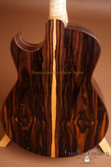 Marchione OMc guitar overexposed back