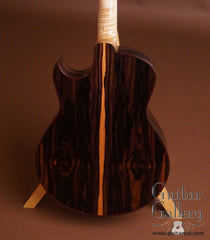 Marchione OMc guitar African ebony back