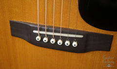 1967 Martin D-28 guitar bridge