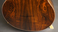 McPherson Brazilian Rosewood Guitar back low