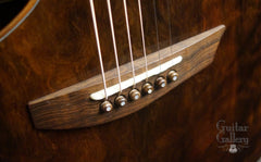 McPherson MG-4.5 XPH Guitar Brazilian rosewood bridge