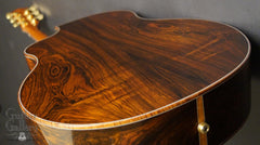 McPherson Brazilian Rosewood Guitar back