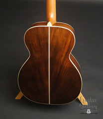 McKnight Highlander Vintage Brazilian rosewood guitar back