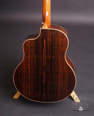 McPherson 4.5 Ebony guitar back